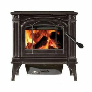 Napoleon Cast-Iron Woodburning Stove, Black (1100CP-1)